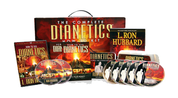 The complete dianetics how to kit