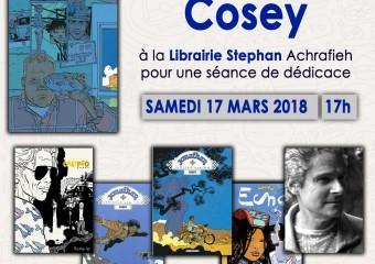 Cosey à La Librairie