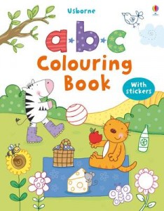 Abc Colouring Sticker Book