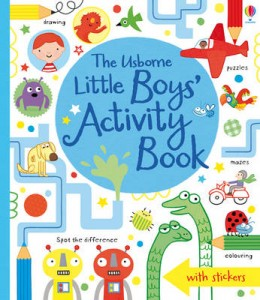 Little Boys' Activity Book