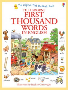 First Thousand Words In English