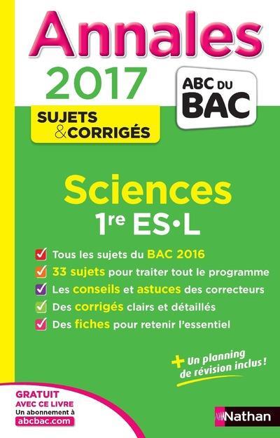 Annales abc bac ; sujets & corriges t.18 ; science...