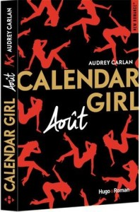 Calendar girl t.8 ; août