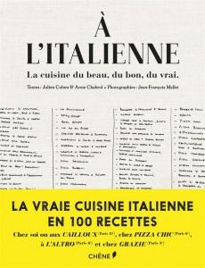 À l'italienne ; le livre de cuisine al dente