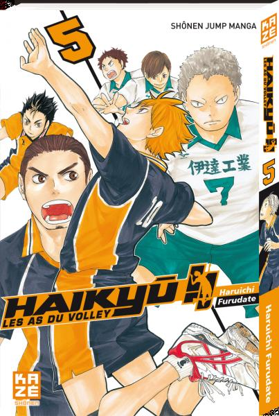 Haikyu !! les as du volley t.5
