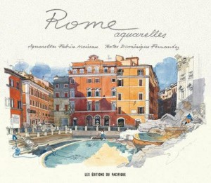 Rome ; aquarelles