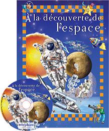A la découverte de l'espace + DVD