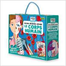 Voyage, découvre, explore le corps humain : Avec u...