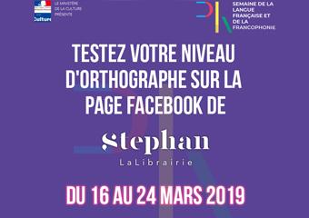 Concours D'orthographe | Semaine de la francophonie