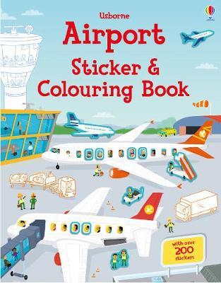 Airport Sticker and Colouring Book