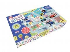 Mon circuit de voitures en puzzle
