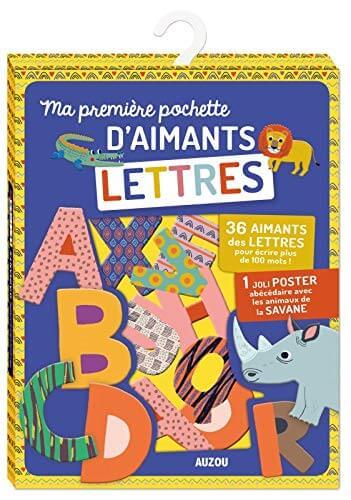 Ma première pochette d'aimants Lettres