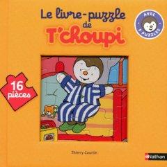 Livre puzzle T'choupi 16 pieces