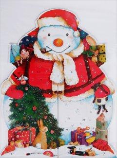 Bonhomme Père Noël - Calendrier de l'Avent