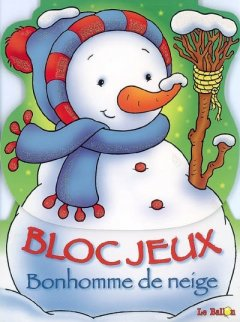 Bloc-Jeux Bonhomme de Neige