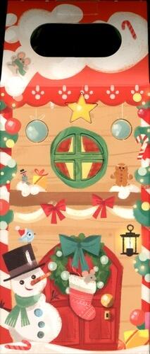 Je vais dormir avec ma lanterne de Noël