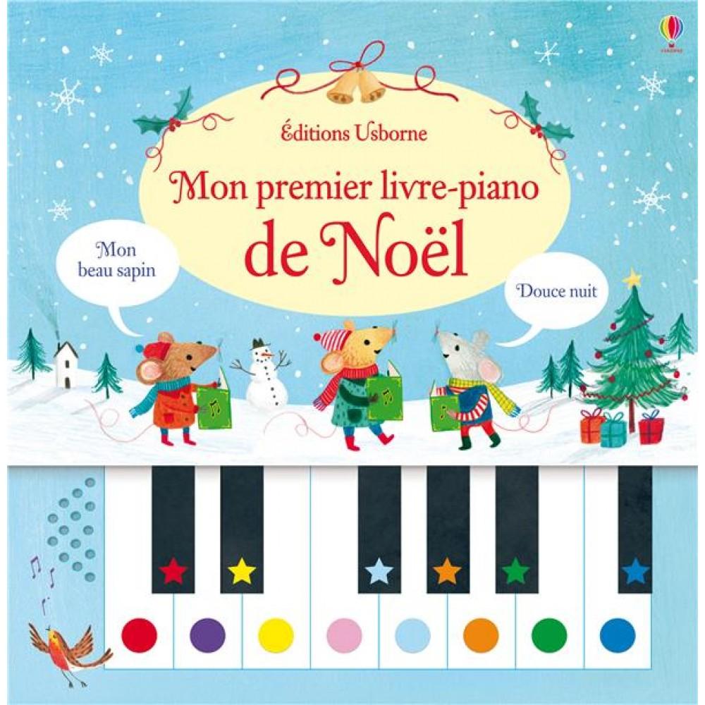Mon premier livre - Piano de Noël