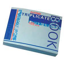 Cahier Triplicata NCR 100 ensembles