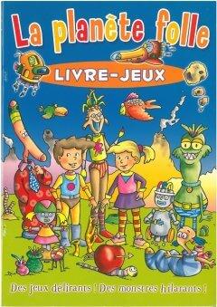 La planete folle livre-jeux