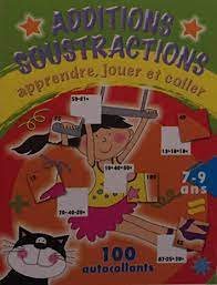 Additions soustractions +100 autocollants