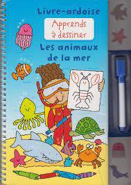 livre ardoise apprends a dessiner les animaux de l...