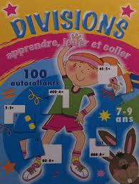 Divisions 7-9 ans +100 autocollants