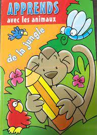 Apprends avec les animaux de la jungle