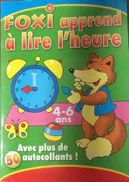 Foxi apprend a lire l'heure