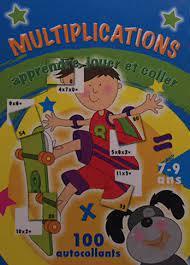 Multiplications apprendre, jouer et coller