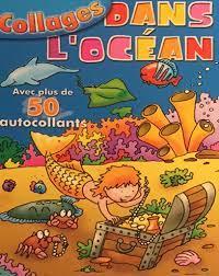 Collages dans l'ocean