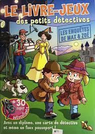 Le livre-jeux des petits detectives ( vert)