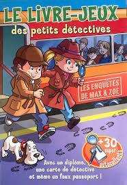 Le livre jeux des petits detectives ( orange )