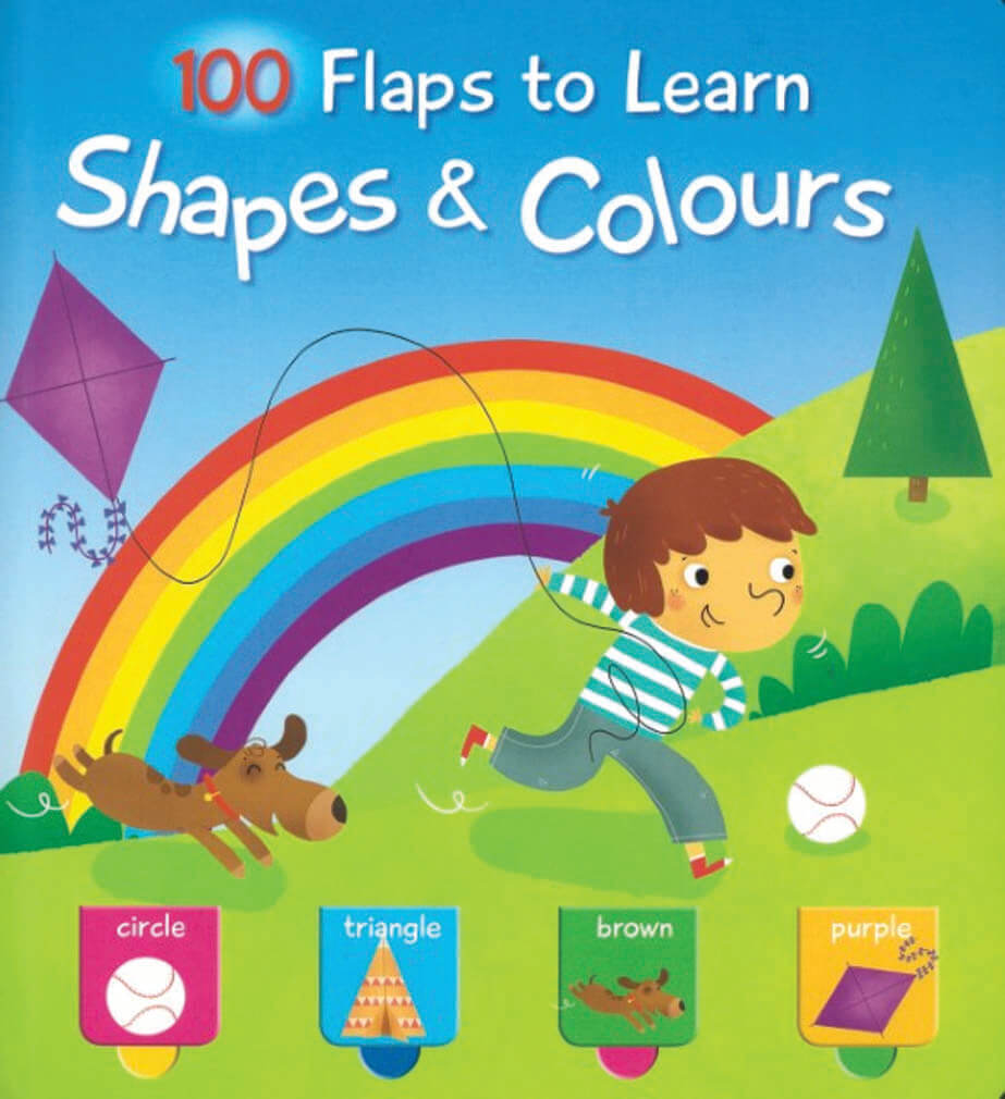 100 Flaps to Learn: Shapes and Colours